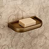 DIDIDD Shelf-Antique Brass Finish Brass Material Soap Dishes,Brass