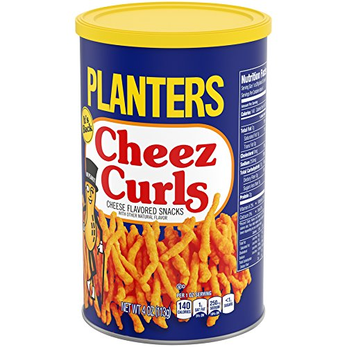 Amazon.com: Planters Cheez Curls, 4 Ounce (Pack of 12) on planters snack mix, planters peanuts candies, peanuts fruit snacks, planters mixed nuts, planters corn snacks,