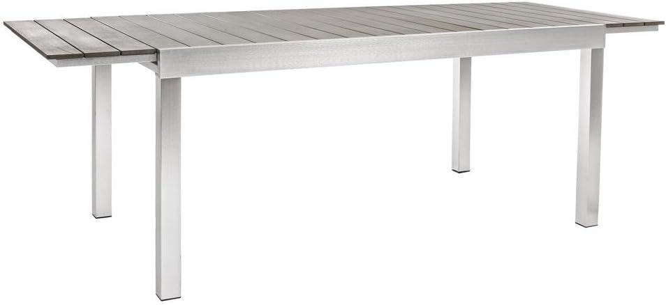 Bizzotto Mesa Extensible Aluminio Otis 164 – 225 X 90 Cm Comedor ...