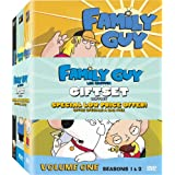 Family Guy Gift Set - Volume 1, Volume 2, and The Family Guy Presents Stewie Griffin: The Untold Story