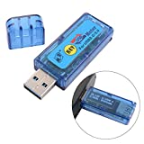 XCSOURCE OLED USB 3.0 4-bit Tester 3.7-13V Voltage 0-3A Current Power Capacity Detector Support QC2.0 TE540