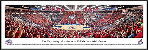 Arizona Basketball - 40Th Anniversary - Blakeway Panoramas College Sports Posters with Standard Frame
