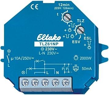Eltako TLZ61NP-230V - Minutero de escalera 230 V: Amazon.es: Bricolaje y herramientas