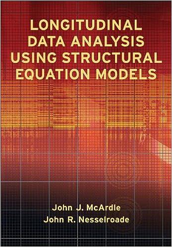Longitudinal Data Analysis Using Structural Equation Models: Amazon