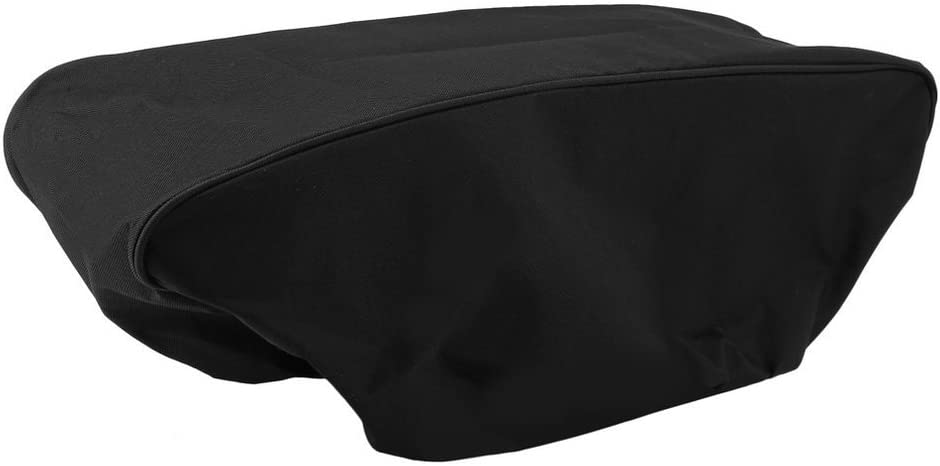 UnitedCAheart Waterproof Soft Winch Dust Capstan Cover 600D Mildew-Resistant Driver Recovery 8000-17500 Lbs Uv-Resistant Cover Black Winch Cover