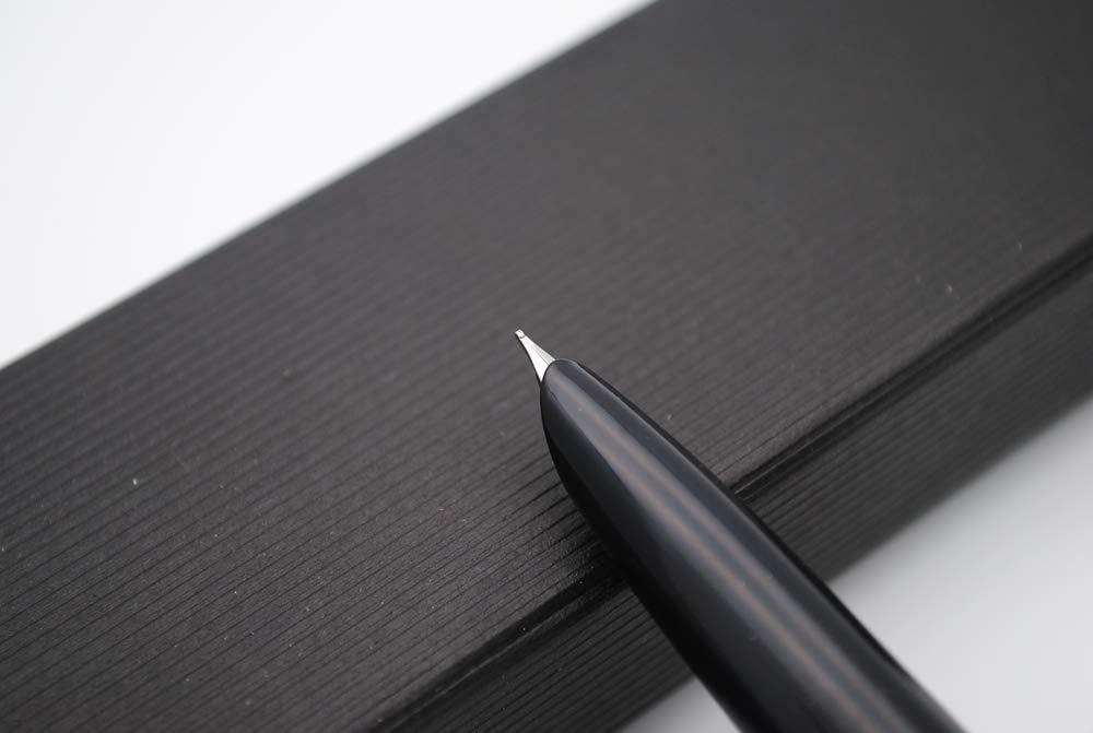 color Red GuiBao Wood Extra Fine Nib 0.38mm Pluma estilogr/áfica madera, tapa de acero JINHAO 51A