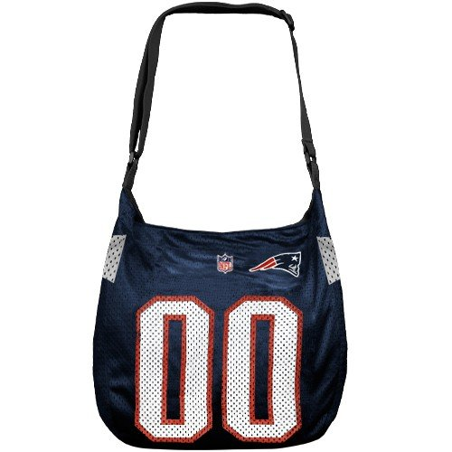 NFL New England Patriots Navy Blue Veteran Jersey Tote Bag (Veteran Jersey Tote Bag)