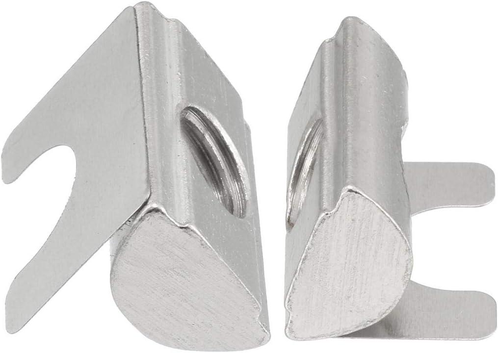 Sourcing Map Roll-In Feder T-Nuts 15 St/ück 3030//4040 Serie Universal mit Federblech f/ür 8 mm Schlitz-Aluminium-Profil