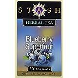 Blueberry Superfruit Herbal Tea Stash Tea 20 Bag