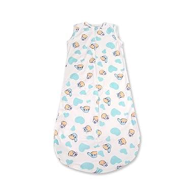 Harson&Jane Saco de dormir Bebé 0.5 Tog Diseño con Patrón Animal Lindo 77cm/6-