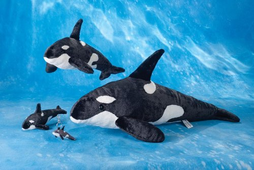 wyland 18quot orca killer whale plush stuffed animal toy