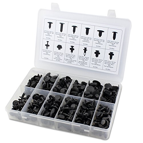 Retainer Fastener Assortment Chrysler Value 240pcs