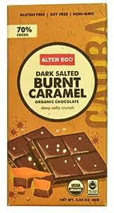 Alter Eco Organic Chocolate Bar Dark Salted Burnt Caramel -- 2.82 oz - 2 pc