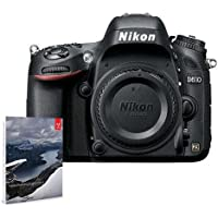 Nikon D610 FX-format Digital SLR Camera Body, 24.3MP, USA Warranty - Bundle with Adobe Photoshop Lightroom 6