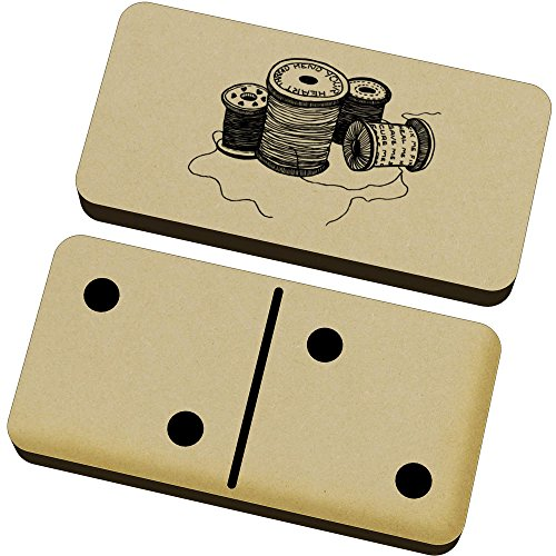 ('Cotton Reels & Thread' Domino Set & Box (DM00008692) )
