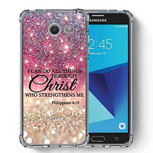 for Samsung Galaxy J7 V 2017 (1st Gen) / Galaxy J7 2017 / Galaxy J7 Prime/Galaxy J7 Perx/Galaxy J7 Sky Pro/Galaxy Halo Case, SuperbBeast Ultra Slim Thin Protective Case w/Reinforced Corner