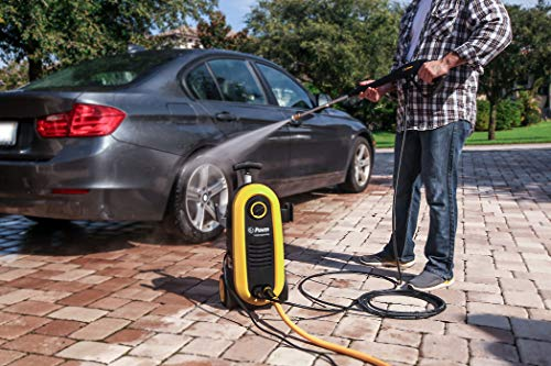 Power Pressure Washer NXG-2200 PSI 1.76 GPM Electric 14.5Amp BRUSHLESS Induction Technology | The Next Generation of Pressure Washer | 4X More Lifespan | Ultra Low Sound (Yellow)