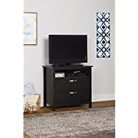 Media Dresser in Black Finish
