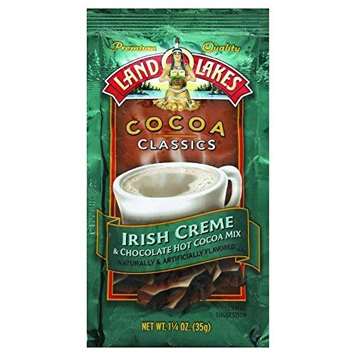 Land O Lakes Cocoa Classic Mix - Irish Creme and Chocolate - 1.25 oz - Case of 12 - Kosher -
