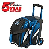 KR Cruiser Single Roller Bowling Bag- Royal/White/Black ()