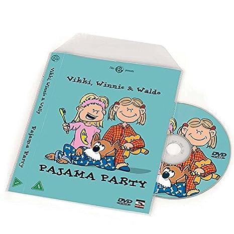Fundas para DVD para almacenaje DVD - 100 uds.: Amazon.es ...