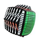 Yj Moyu 13x13x13 Puzzle Cube Smooth Twisty Puzzle Black