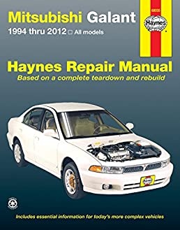 mitsubishi galant 1994 thru 2012 all models haynes repair manual rh amazon com 2000 mitsubishi galant owners manual free pdf 2000 Mitsubishi Galant Wiring-Diagram