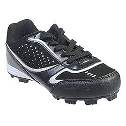 Starter Fusion Boys Black Baseball Cleats (5)