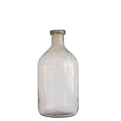 Xin Pang Jarrón Boca Bubble Vaso De Vidrio Home Salón ...