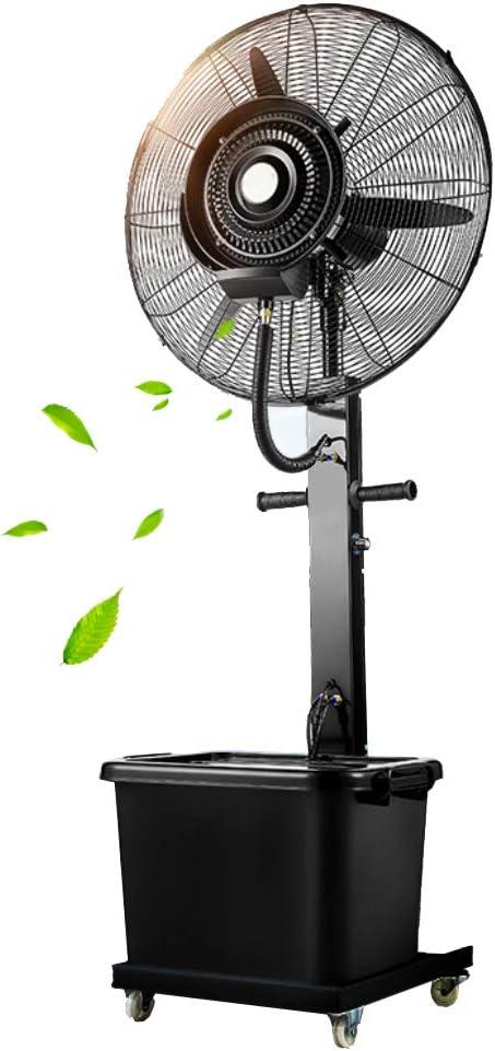YF-Fan Ventilador de Pedestal de humidificador para Trabajo Pesado ...