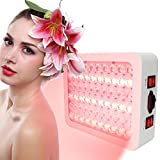300W Mini Professional LED Infrared Light Red Light Therapy Skin Rejuvenation Wrinkle Removal Beauty Machine Beauty Spa Salon Light(US Plug)