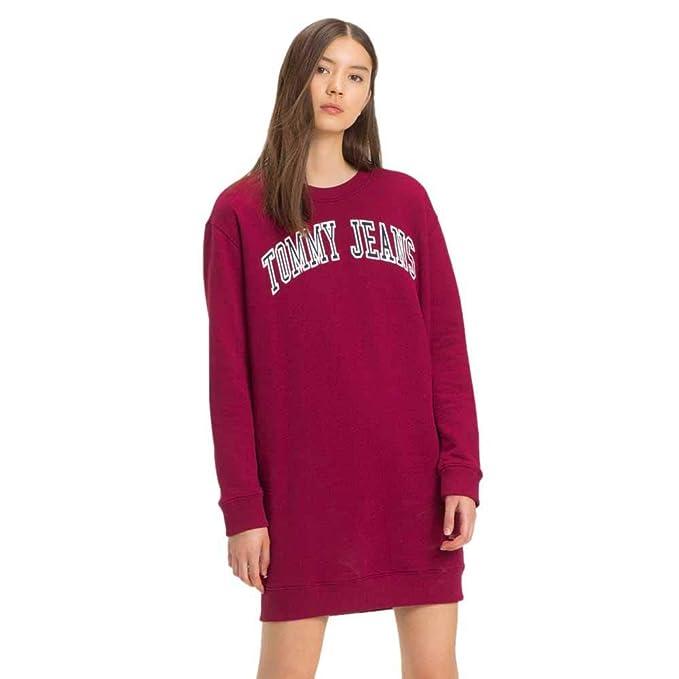 8160c26d515a Tommy Hilfiger - TJW Logo Sweatshirt - Vestido/Sudadera para Mujer ...