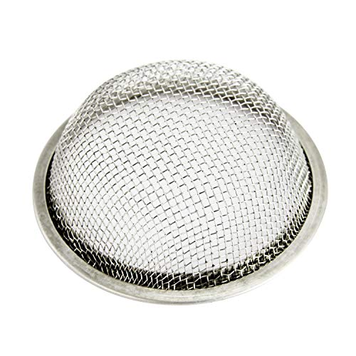 AMO Shisha Edelstahlsieb – Tabaksieb, Einlegesieb für den Shisha Kopf – Wasserpfeife Zubehör – 3 Stück