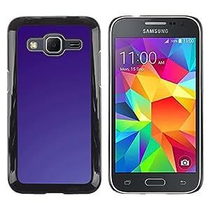 iKiki Tech / Estuche rígido - Simple Purple - Samsung Galaxy Core Prime SM-G360