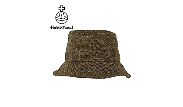 4a40448a Amazon.com : Tilley Endurables TTH1 Tuckaway Hat - Brown Plaid - 7 : Sports  & Outdoors