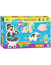 Quebra-Cabeça Baby Bita e os Animais, Nig Brinquedos