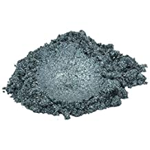 Storm / Grey / Silver Luxury Mica Colorant Pigment Powder Cosmetic Grade Glitter Eyeshadow Effects for Soap Candle Nail Polish 1 oz, 30 g