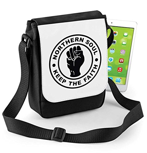 Northern Soul Keep The Faith Tablet or Ipad Mini Compatible Digital Reporter Bag