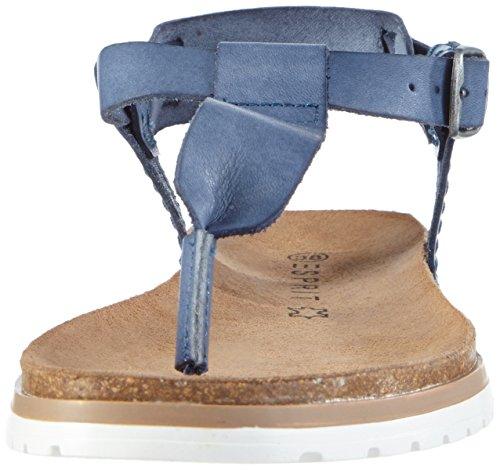 Esprit Moraira Sandal - Sandalias Mujer Azul - Blau (415 ink)