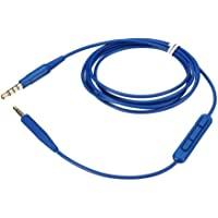 Mrotrida Línea de Cable de Audio de Repuesto para audífonos para audífonos Bose 700 SoundTrue Soundlink QC25 QC35 OE2 OE2I (Azul)
