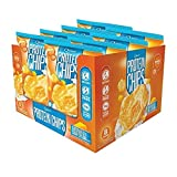 Quest Nutrition Protein Chips, Cheddar & Sour Cream, 21g Protein, 5g Net Carbs, 132 Cals, Low Carb, Gluten Free, Soy Free, Potato Free, Baked, 1.2oz Bag, 8 Count