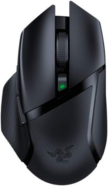 Razer Basilisk X HyperSpeed - Ratón inalámbrico para juegos (con tecnología Razer HyperSpeed, inalámbrico, sensor óptico avanzado 5G y 6 botones configurables libremente)