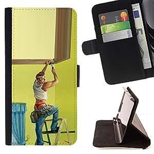 - Queen Pattern FOR Sony Xperia Z2 D6502 /La identificaci????n del cr????dito ranuras para tarjetas tir????n de la caja Cartera de cuero cubie - handyman painting stripper gay sex
