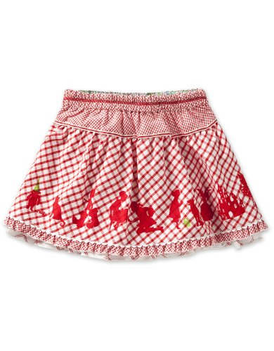 Oilily Baby Girls' Suzie  Skirt, Red/Combo Red, 18 Months