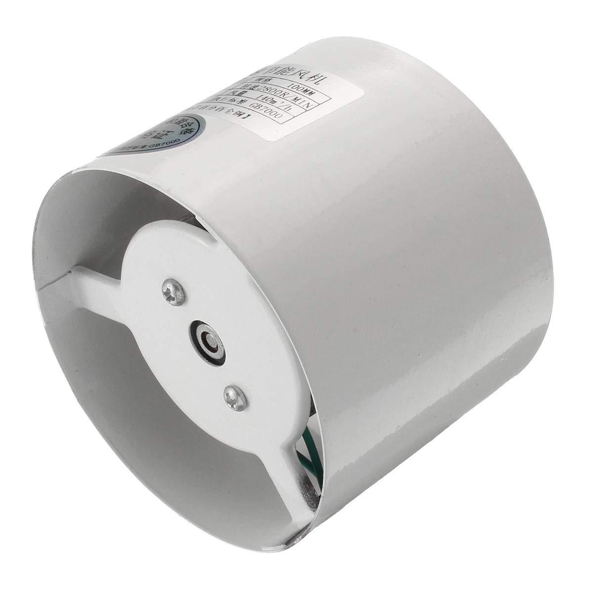 4 4 Inch//6 Inch Booster Fan Inline Duct Vent Blower Fan Exhaust Fan Tools