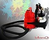 450W ELECTRIC HVLP SPRAY PAINT GUN W/ 1 LITER METAL TANK