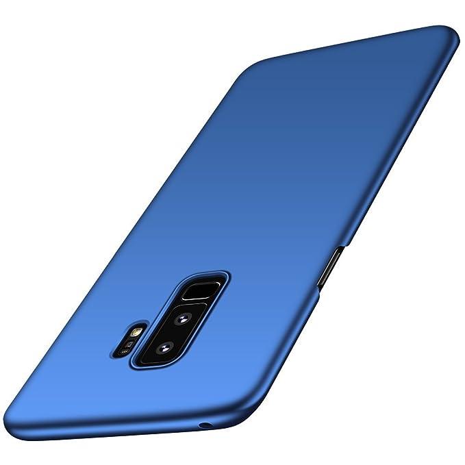 Qissy Carcasa Samsung Galaxy S9, Ultra Ligero Suave Sedoso Pintura PC Funda Protectora de teléfono Protective Case Cover para Samsung Galaxy S9 5.8