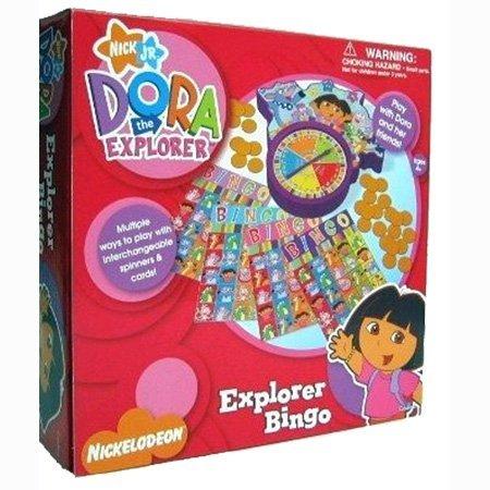 Nick Jr Dora the Explorer - Explorer Bingo