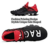 XIDISO Mens Walking Shoes Blade Lace-up Outdoor