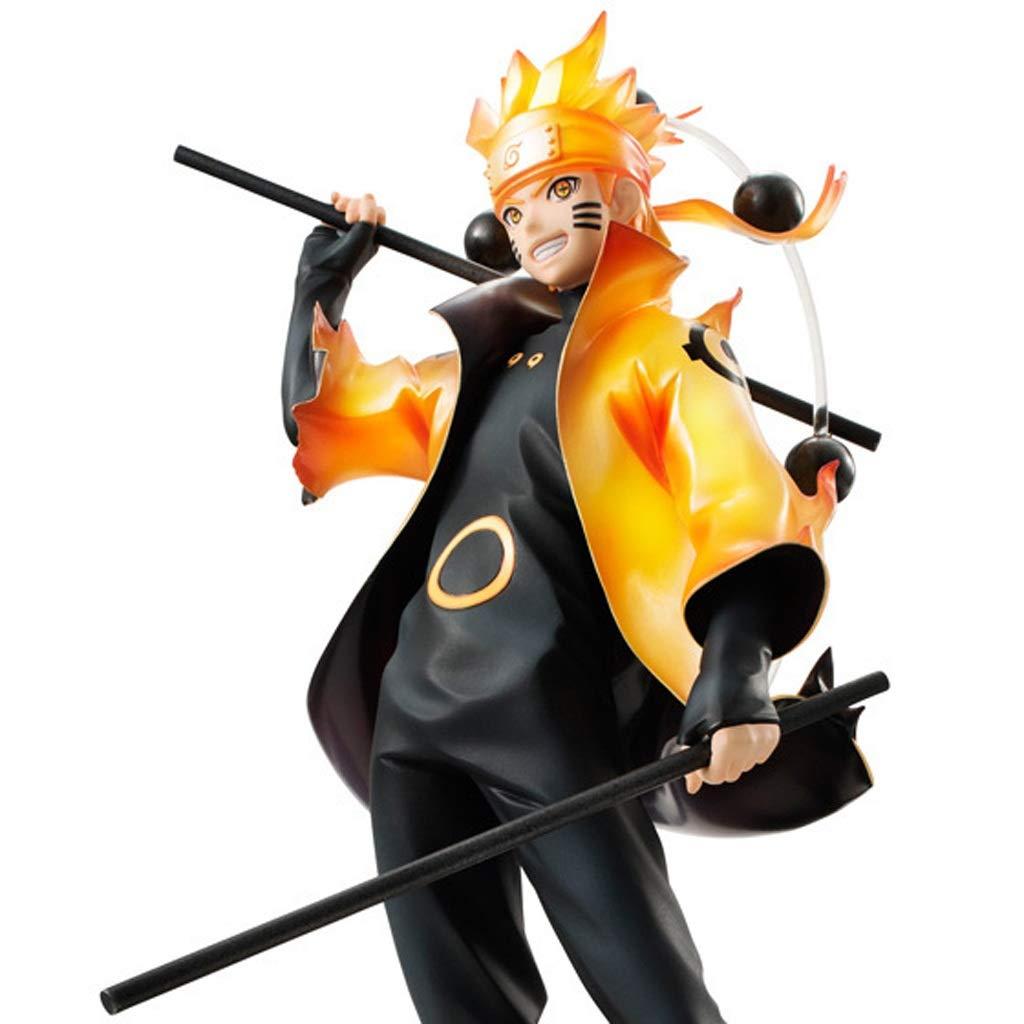 GLJJQMY Naruto Personaggio Giocattolo Blast Drive Vortex Ninja Modello Anime Regalo Souvenir Collezione Artigianato Regalo di Festa 25cm Giocattoli di Modello